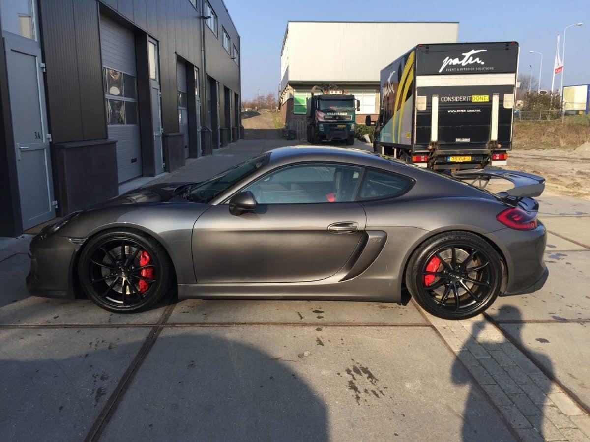 Porsche gepolijst