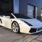 Glascoating behandeling Lamborghini