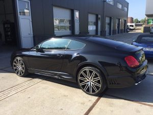 Bentley poetsen Haarlem