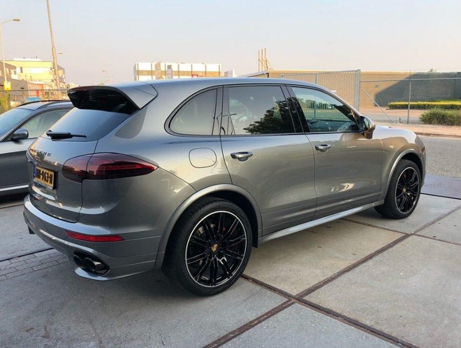 Porsche Polijsten - Car Care Expert -cayenne